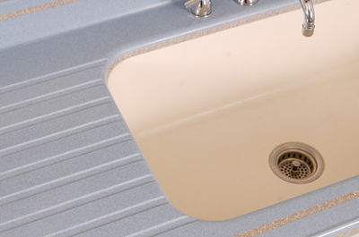 undermount corain sink