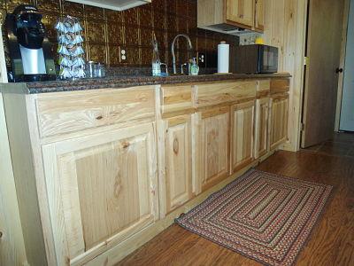 hickory base cabinet