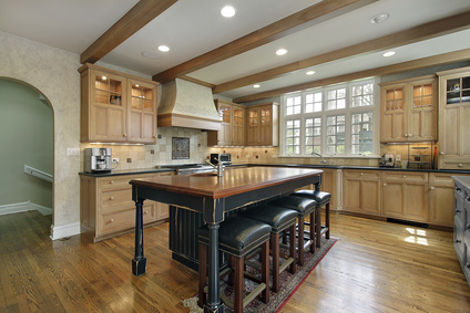 smooth faux wood beams