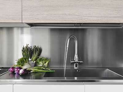 stainless steel sheet backsplash