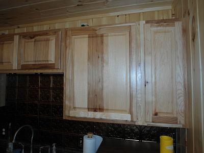 hickory upper cabinet